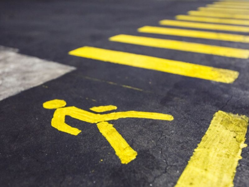 Top 8 U.S. states for Accidental Death to Pedestrians